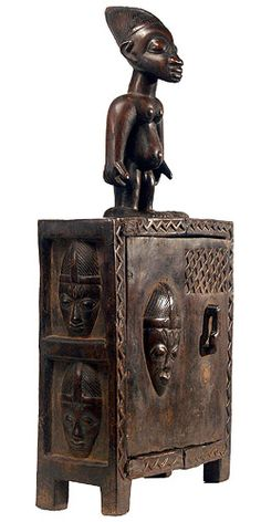 Yoruba Box ~Repinned Via Rien Catherine Kate http://www.hamillgallery.com/