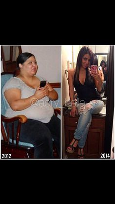 Amazing before and after transformation