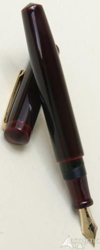 Nakaya Urushi Piccolo Long Writer Akatame Fountain Pen