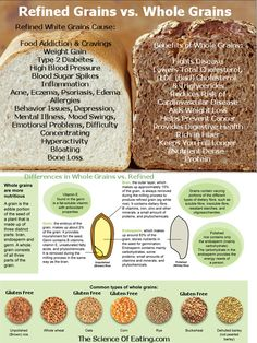 Choosing Whole Grains over white, refined products that are devoid of nutrients is one of the most important keys in weight loss & optimal health. Here's why!