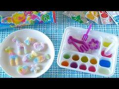 How to Make Kracie Popin' Cookin' DIY Oekaki Gummy Land Kit クラシエ ポッピンクッキ...***
