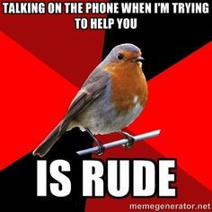 So many people have been doing this lately!!  Retail Robin via Meme Generator