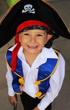 disfraz niño diy pirata