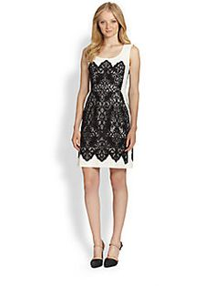 Nanette Lepore - Lacy Kissing Booth Dress