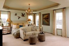 Luxurious traditional bedroom idea | 50 Amazing Traditional Bedroom Design