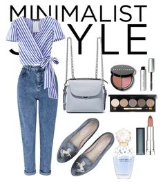 """style your work"" by astutinatalia on Polyvore featuring Miss Selfridge, Fendi, Bobbi Brown Cosmetics, Maybelline and Marc Jacobs"