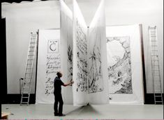 Art ア-ト искусство arte kunst paintings installations giant b Book Installation, Art Installations, Book Sculpture, Metal Sculptures, Abstract Sculpture, Exhibition Display, Scenic Design, Design Museum, Museum Exhibition Design