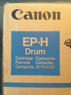 Tintenpatrone.net - Canon: CLBP-360 PS; LBP-2030, 2030PS, 2035PS OC-1501A001 Original Canon 1501A001 / EP-A Drum (RESTPOSTEN)  Art.Nr.:TP-1501A001 Lieferzeit:geht direkt an dich raus !  Lagerbestand: 1 Stück  99,00 EUR inkl. 19% MwSt. zzgl. Versand  http://www.Tintenpatrone.net  #Drum #Canon #EP-H