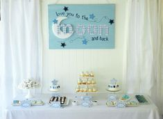 moons and stars baby shower