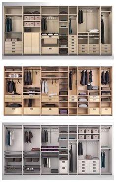 30 Ideas Master Walk In Closet Layout Decor Wardrobe Room, Wardrobe Design Bedroom, Master Bedroom Closet, Wardrobe Closet, Closet Space, Wardrobe Storage, Wardrobe Interior Design, Master Bedrooms, Master Suite