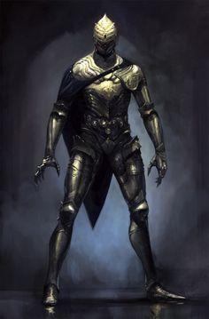 ArtStation - Golden armor, Antti Hakosaari