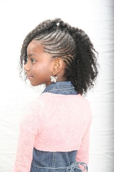 Enjoyable Kid Braid Styles Kid And African American Braided Hairstyles On Short Hairstyles For Black Women Fulllsitofus