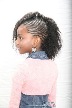 Pleasant Kid Braid Styles Kid And African American Braided Hairstyles On Short Hairstyles Gunalazisus