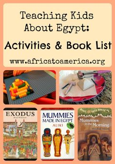 Teach kids through hands on learning activities and educational children's books about ancient Egypt.