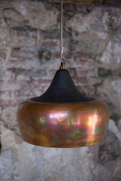 Hängelampe Esstischlampe Factory Kupfer Coco: Amazon.de: Beleuchtung