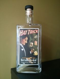 High Wire Hat Trick gin (the guy on the label reminds me of Arnold Rothstein)