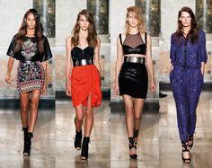 Desfile da Emilio Pucci na Semana de Moda de Milão - Trends Verão 2015