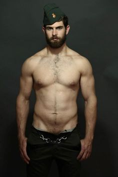 - Sexy Bearded Man. Everything about this man makes me want so many babies with him.