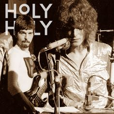 Good Luck to Holy Holy in London tonight - David Bowie and Tony Visconti playing live as Hype, 1970