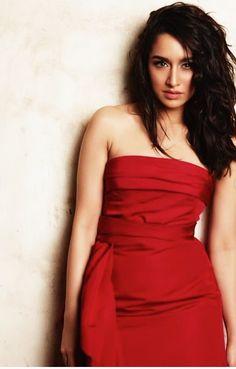 Beautiful Shraddha Kapoor In Hot Red Dress. - Bollywood New Star Bollywood Couples, Bollywood Celebrities, Bollywood Fashion, Beautiful Bollywood Actress, Beautiful Indian Actress, Fashion 2020, Girl Fashion, Shraddha Kapoor Cute, Sraddha Kapoor