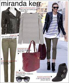 Miranda Kerr outfit inspiration