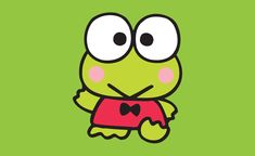 Get free exclusive Keroppi goodies. Super fun emoticons, wallpaper, papercrafts and more. Hello Kitty Characters, Sanrio Characters, Funny Frogs, Cute Frogs, Cute Wallpaper Backgrounds, Cute Wallpapers, Keroppi Wallpaper, Hello Sanrio, Pochacco