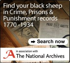 New Crime, Prisons and Punishment records 1770-1934