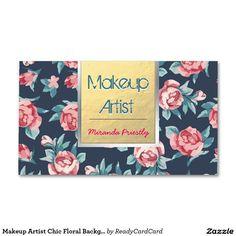 Maskenbildner-schicker Visitenkarten