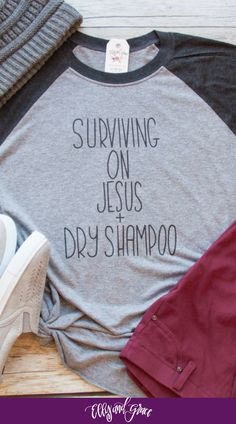Soft and cozy apparel with Christian humor.