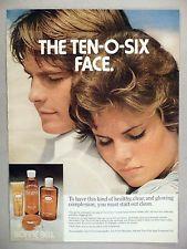 Bonne Bell Ten-O-Six Shampoo & Lotion PRINT AD - 1974 ~~ Mariel Hemingway