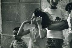 Kertesz, Andre:  Gypsy Girl Arles, July 1979.