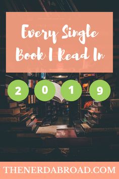 Bored during quarantine? Here is a list of every single book I read in 2019 and I think you should read as well! 12th Book, In 2019, Book Recommendations, My Books, Nerd, Reading, Travel, Voyage, Word Reading