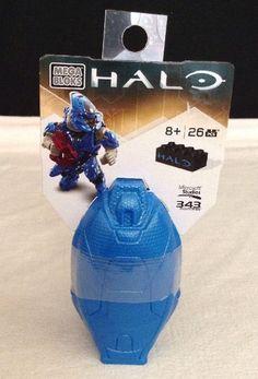 Halo Mega Bloks Drop Pod 97353 Blue Elite  26 Pcs 8+ 2015 #MegaBloks