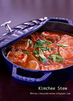 I LOVE kimchi chiggae. It gives me heartburn everytime. But, I keep going back. Because it's just that good. Kimchi Stew from Beyond Kimchee Cabbage Stew, Asian Recipes, Ethnic Recipes, Oriental Recipes, Fermented Cabbage, Korean Food, Korean Dishes, Asian Cooking, Pork Belly