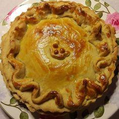 Torta de Estrogonofe de Cogumelo. #tortaestrogonofe #cogumelo #pizzato 🌱🐔🐄🍫🍰 @donamanteiga #donamanteiga #danusapenna #amanteigadas #gastronomia #food #bolos #tortas www.donamanteiga.com.br