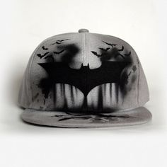 BATMAN Snapback hat, Batman baseball cap, Graffiti hand PAINTED SNAPBACK, Personalized gift for boys, girls and adults, Customized hat cap