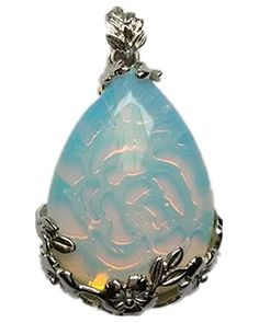 Beautiful Wire Wrap Opal Opalite Teardrop Pendant Bead yuteng http://www.amazon.com/dp/B00GJD68VW/ref=cm_sw_r_pi_dp_baXGvb1GB4Z5Z