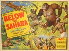Below the Sahara, 1953 - original vintage cinema poster listed on AntikBar.co.uk