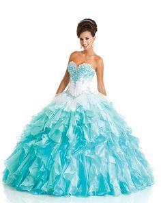 Fabulous full ball gown by Bonny Bridal