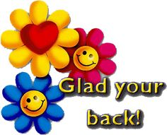 welcome back you were missed cards idonotknow happy thoughts rh pinterest com free clipart welcome back we missed you