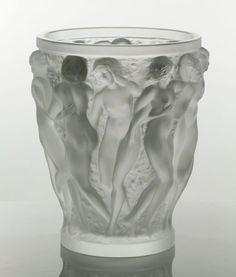 """Lalique """"Bacchantes"""" Vase : Lot 8200"""