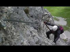 Klettersteig Köllenspitze --Kellenspitze 2238m - YouTube