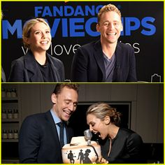 Tom Hiddleston & Elizabeth Olsen Freaked Out Over This Cake