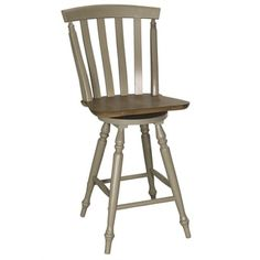 Shop for Fresco Taupe and Wood Transitional Slat Back Swivel 24 Inch Barstool. Get free shipping at Overstock.com - Your Online Furniture Outlet Store! Get 5% in rewards with Club O!