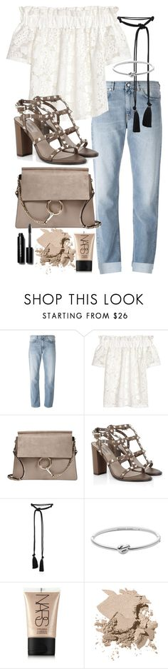 """Untitled #19661"" by florencia95 ❤ liked on Polyvore featuring Acne Studios, H&M, Chloé, Valentino, Lanvin, Michael Kors, NARS Cosmetics and Bobbi Brown Cosmetics"