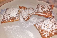 Beignets, Austrian Recipes, Cakes And More, Baking Recipes, Donuts, French Toast, Deserts, Muffin, Brunch