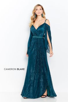 Cameron Blake by Mon Cheri - 120607 Ruched V-Neck Sheath Evening Gown Special Dresses, Special Occasion Dresses, 2015 Wedding Dresses, Bride Dresses, Gown Wedding, Wedding Blog, Lace Wedding, Wedding Ideas, Cameron Blake