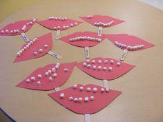 Preschool Crafts: community links; doctor, fireman, and dentist