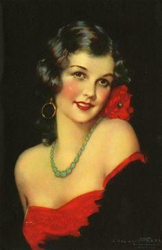 1920's magazine cover.
