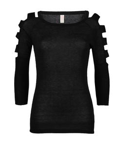 Knit Tunic With Cutout Sleeves =)
